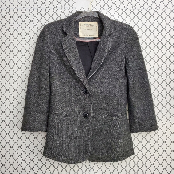 3/$20 Anthropologie Cartonnier Grey Blazer…
